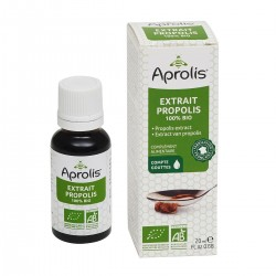 Photo Extrait de Propolis 100% 20ml Bio Aprolis