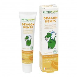 Photo Dragondents goût Banane 75ml Bio Junior