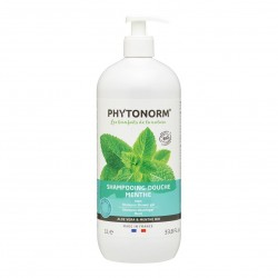 Photo Shampooing-Douche Menthe 1L Bio Phytonorm