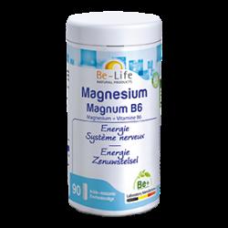 Photo Magnésium magnum + B6 90 gélules Be-Life
