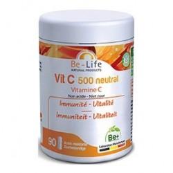 Photo Vit C 500 Neutral 90 gélules Be-Life