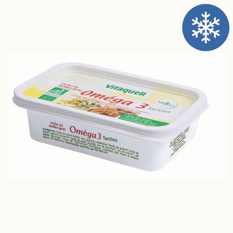 Photo Margarine Bio Oméga 3 250g Vitaquell