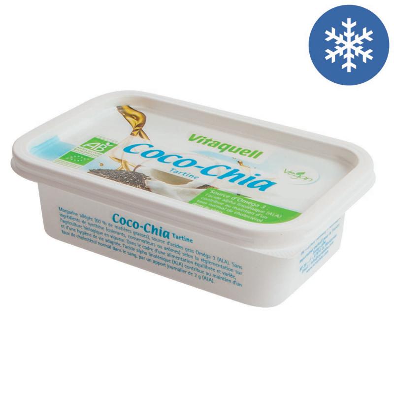 Photo Margarine Bio Coco-Chia 250g Vitaquell