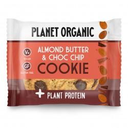 Photo Cookie Protéiné Amandes-Chocolat Bio 50g Planet Organic