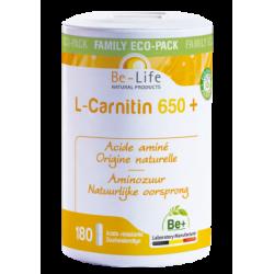 Photo L-Carnitin acide aminé 180 gélules Be-Life