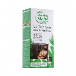 Photo Teinture n°6 Châtain Clair Cendré 125ml Martine Mahé