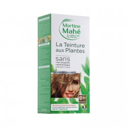 Photo Teinture n°9 Blond Doré 125ml Martine Mahé