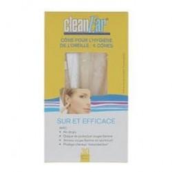 Photo Cônes pour hygiène de l'oreille x6 CleanEar