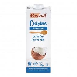 Photo Crème Cuisine Lait de Coco 1L Bio Ecomil