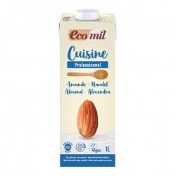 Photo Crème Cuisine aux Amandes 1L Bio Ecomil