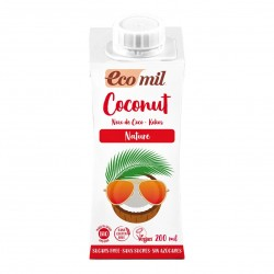 Photo Lait Coco Nature 6x200ml Bio Ecomil