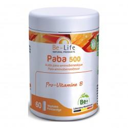 Photo Paba 500 60 gélules Be-Life