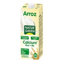 Photo Boisson Riz-Calcium Nature 1L Bio Naturgreen