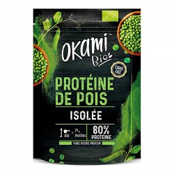 Photo Protéine de Pois isolée Bio 500g Okami