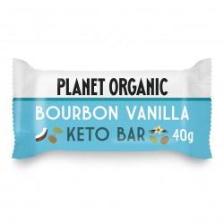 Photo Barre Keto Vanille 40g Bio Planet Organic