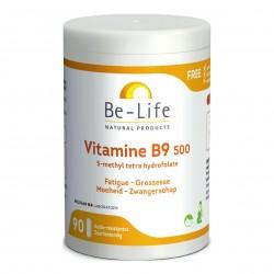Photo Vitamines B9 500 90 gélules Be-Life