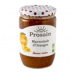 Photo Marmelade d'oranges saveur amère 750g bio Prosain
