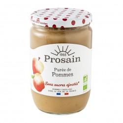 Photo Purée de pommes sans sucres ajoutés 620g bio Prosain
