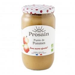 Photo Purée de pommes sans sucres ajoutés 820g bio Prosain