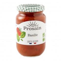 Photo Sauce tomate basilic 200g bio Prosain