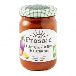Photo Sauce tomate aux aubergines grillées & parmesan 200g bio Prosain