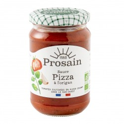 Photo Sauce pizza aux tomates et origan 290gr bio Prosain