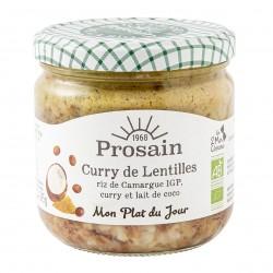 Photo Curry de lentilles à l'indienne 38.8cl bio Prosain