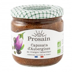 Photo Caponata d'aubergines 38.8cl bio Prosain