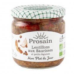Photo Lentillons-saucisses 360g bio Prosain