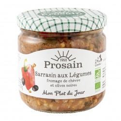 Photo Sarrasin aux légumes 365g bio Prosain