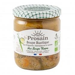 Photo Soupe rustique aux 6 légumes et quinoa 420gr bio Prosain
