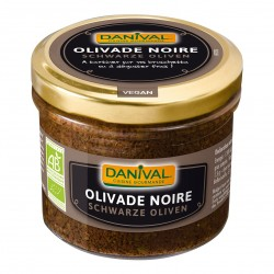 Photo Olivade Noire 100g Bio Danival