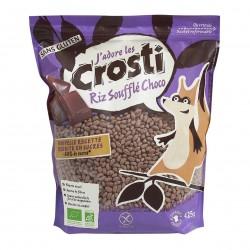 Photo Céréales Crosti riz soufflé-chocolat 425g Bio Favrichon