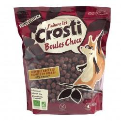 Photo Céréales Crosti boules chocolat 400g Bio Favrichon