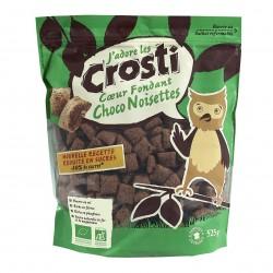 Photo Céréales Crosti coeur fondant chocolat-noisettes 525g Bio Favrichon