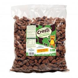Photo Céréales C'écolo Crosti coeur fondant chocolat-noisettes 850g Bio Favrichon