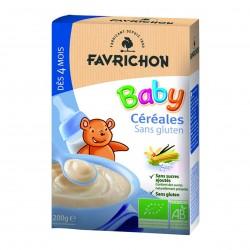 Photo Céréales Baby solubles 200g Bio Favrichon