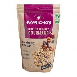 Photo Granola cranberry-pécan 375gr Bio Favrichon