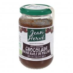Photo Chocolade pâte à tartiner cacao-noisette-lait sans huile de palme 350g bio Jean Hervé
