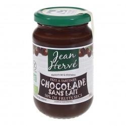 Photo Chocolade pâte à tartiner cacao-noisette sans lait et sans huile de palme 350g bio Jean Hervé