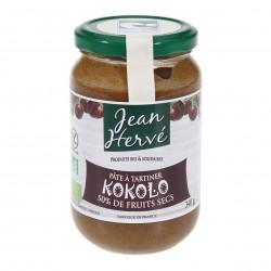 Photo Kokolo pâte à tartiner noix de coco-noisette sans huile de palme 340g bio Jean Hervé