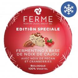 Photo Fermentino aux canneberges et noix de pécan 110g Bio Ferme
