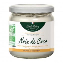 Photo Huile de noix de coco vierge 0.34 l bio Emile Noël