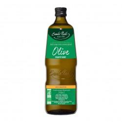 Photo Huile d'olive vierge extra fruité vert 1l bio Emile Noël