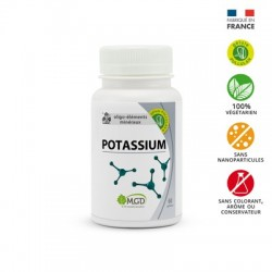 Photo Potassium oligo-éléments 60 gél. MGD
