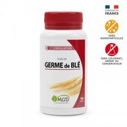 Photo Huile de germe blé 100 caps. MGD