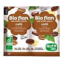 Photo Bioflan café sans sucres ajoutés 10g bio Nat-Ali