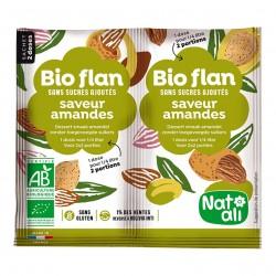 Photo Bioflan amande sans sucres ajoutés 7g bio Nat-Ali
