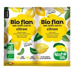 Photo Bioflan citron sans sucres ajoutés 7g bio Nat-Ali