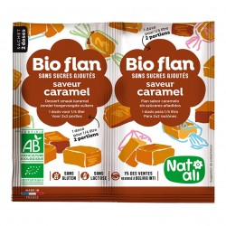 Photo Bioflan caramel sans sucres ajoutés 8g bio Nat-Ali